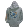 Disney ADULT Hoodie - 2013 Goofy's Race and a Half Challenge - Grey