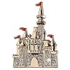 Disney Brooch Pin - Sleeping Beauty Castle Brooch