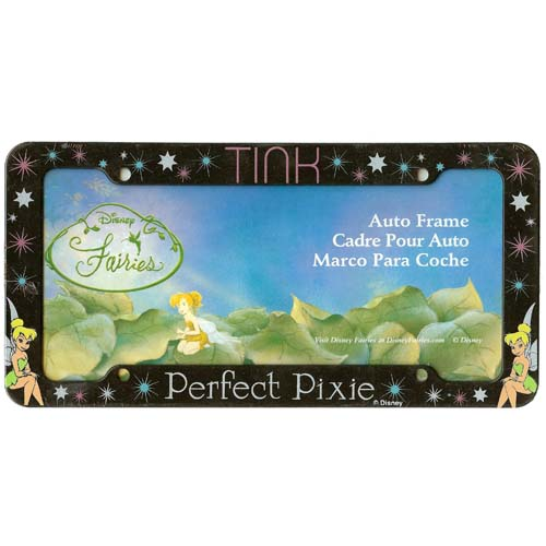 Your Wdw Store Disney License Plate Frame Tink