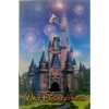 Disney Postcard - Lenticular Magic Kingdom - Cinderella Castle