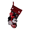 Disney Christmas Holiday Stocking - Plaid - Minnie Mouse
