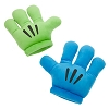 Disney Plush Hands - Mickey Mitts Gloves - Blue / Green