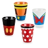 Disney Shot Glass Set - Mickey Minnie Donald Goofy