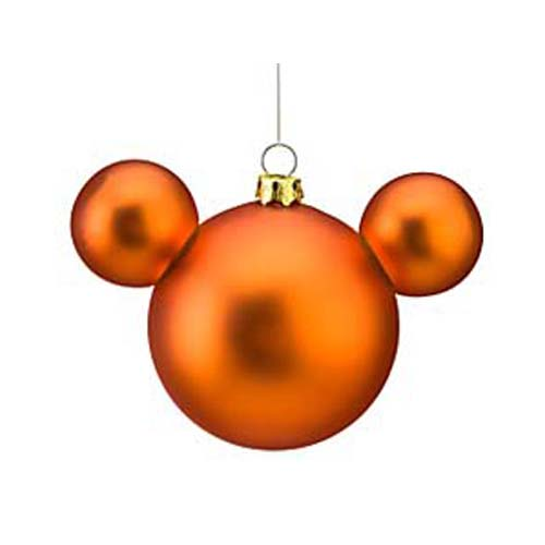 Christmas Decorations With Orange: Disney Christmas Ornament