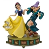 Disney Medium Figure Statue - Snow White Dopey and Sneezy Dwarf