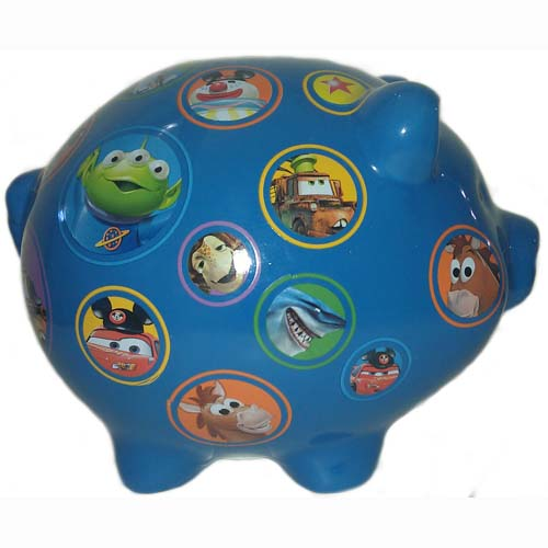 Your Wdw Store Disney Coin Bank Ceramic Piggy Bank Pixar