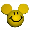 Disney Antenna Topper - Smiley Face - Yellow