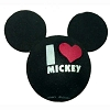 Disney Antenna Topper - Black - I Heart Mickey