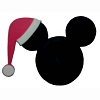 Disney Antenna Topper - Santa Mickey Mouse