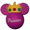 Disney Antenna Topper - Yellow Princess Crown