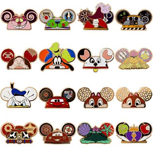 Disney Pins On Hats: Tarzan Stuff, Couples Pins And Ear Hat Pins