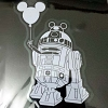 Disney Auto Window Decal - Star Wars R2-D2 Astromech Droid