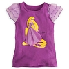 Disney Child Shirt - Rapunzel Flowing Dress Tee for Girls