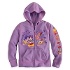 Disney Child Hoodie - Mickey Mouse and Friends Disney World - Purple
