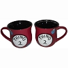 Universal Coffee Cup Mug - Dr. Seuss - Thing 2 - Red Beaded