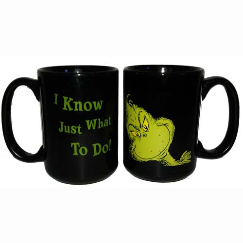 Your WDW Store - Universal Coffee Cup Mug - Dr. Seuss - The Grinch