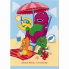 Universal Postcard - Universal Studios - Barney and Friends