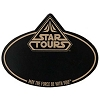 Disney Name Tag ID - Star Wars Weekends 2013 Star Tours Logo Black