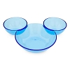 Disney Serving Plate - Chip and Dip Mickey Mouse - Brilliant Blue