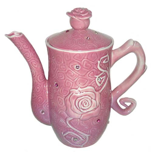 Your Wdw Store Disney Teapot Sleeping Beauty Rose