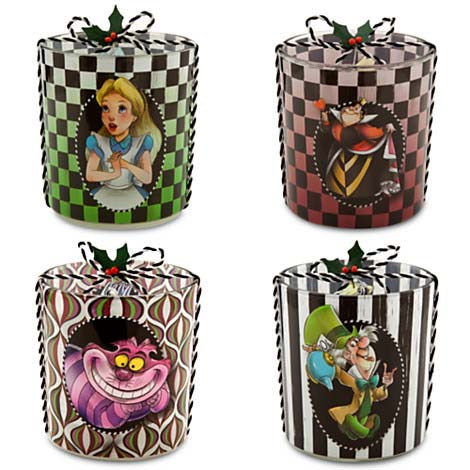 Your Wdw Store Disney Candle Holder Set Alice In
