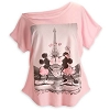 Disney LADIES Shirt - Mickey and Minnie Mouse - Paris