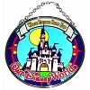 Disney Stained Glass Sun Catcher - Cinderella Castle - Small