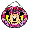 Disney Stained Glass Sun Catcher - Minnie Mouse - Small