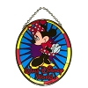 Disney Stained Glass Sun Catcher - Minnie Mouse - Medium