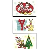 Disney Christmas Cards - Classic Designs - Mickey Minnie Goofy Pluto