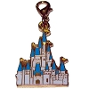 Disney Dangle Charm - Magic Kingdom Gold Glittering Castle