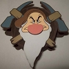 Disney Antenna Topper - Grumpy Mining Wheel Crossed Pick Axes