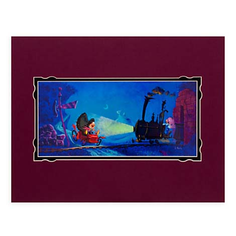 Your Wdw Store Disney Jody Daily Print Mr Toad S Wild