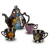 Disney Wind Chimes - Alice In Wonderland - Teapot and Cups