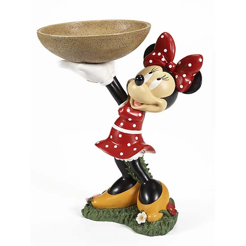 your wdw store disney bird bath flower garden minnie. Black Bedroom Furniture Sets. Home Design Ideas