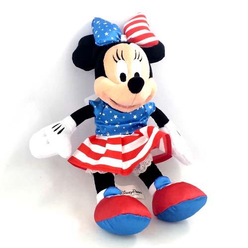 Your Wdw Store Disney Plush Americana Minnie Mouse 9 Quot