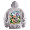 Disney ADULT Hoodie - Mickey Mouse and Friends Hoodie for Adults