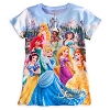 Disney Child Shirt - Disney Princess Storybook Tee - Walt Disney World