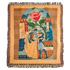 Disney Throw Blanket - Beauty and the Beast Enchanted Rose
