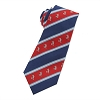 Disney Silk Tie - Mickey Mouse - Red White Blue Striped