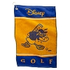 Disney Golf Towel - Donald Duck - Yellow / Blue - Angry Donald