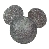 Disney Antenna Topper - Mickey Mouse Icon Silver Glitter
