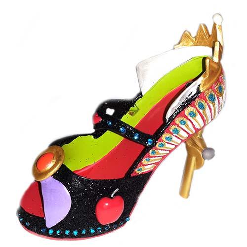 Disney Shoe Ornament - Villain - Evil Queen Disney Evil Queen Ornament