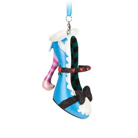Disney Shoe Ornament - Alice In Wonderland - Alice
