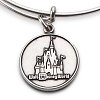 Disney Alex and Ani Charm Bracelet - Disney World Castle - Silver