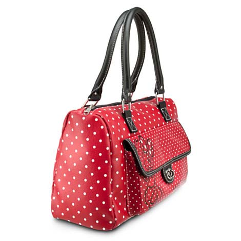 your wdw store disney bag purse minnie mouse polka dot