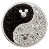Disney Kameleon Necklace Charm - Jewel Pop Yin - Yang Mickey Icons