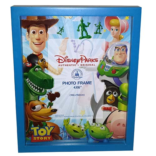 Disney Shadow Box Picture Frame Toy Story 4x6