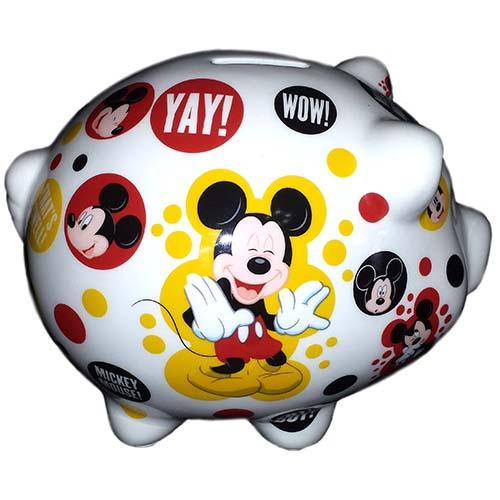 disney coin bank ceramic piggy bank mickey mouse