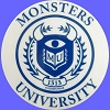 Disney Window Decal - Monsters University MU